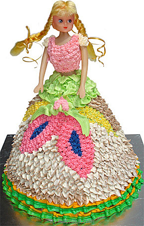 Top 10 Item Doll Starred Birthday Cake Mahaweli Reach