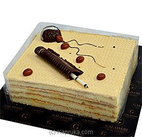 Galadari English Mocha Layer Cake Online at Kapruka | Product# cake0GAL00104