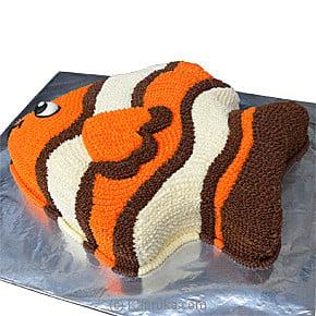 Top 10 Item Tropical FishShaped Cake Fab Cake Kapruka