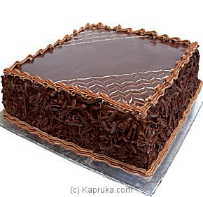 Chocolate Bliss Fudge Cake - 1 Lbs Online at Kapruka | Product# cake00KA00174