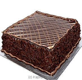 Chocolate Surprise Fudge Cake - 1 lbs at Kapruka Online