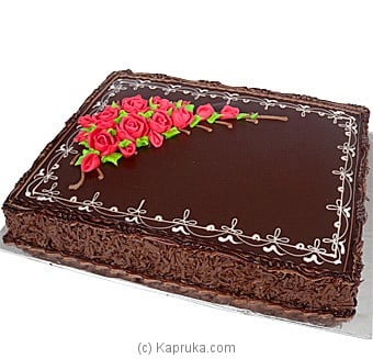 Large Size Chocolate Fudge Cake 8 Lbs at Kapruka Online
