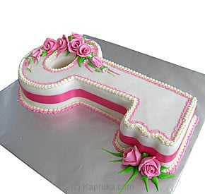Cake Decorating Accessories In Sri Lanka : Kapruka.com: Key Birthday Cake Cake - Kapruka