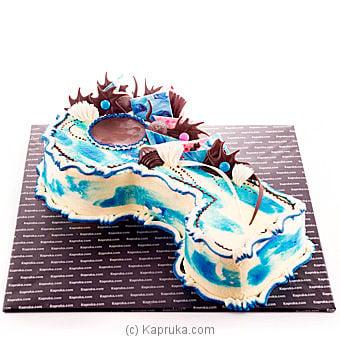 Key Birthday Cake-blue Online at Kapruka | Product# cake00KA00217