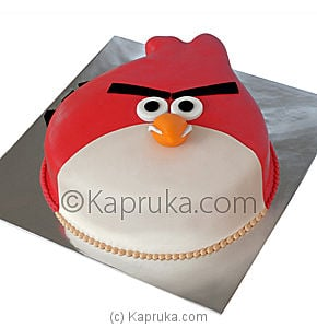 Kapruka Online Shopping Product Angry Bird Cake