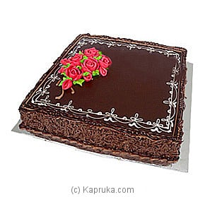 Chocolate Fudge Cake 4 Lbs Online at Kapruka | Product# cake00KA00227