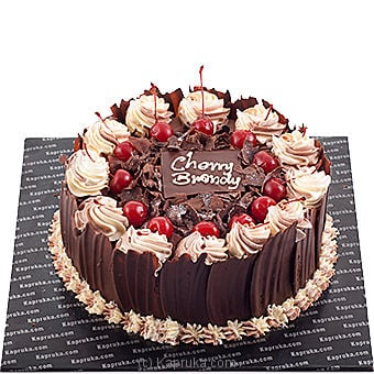 Kapruka Cherry Brandy Gateau Online at Kapruka | Product# cake00KA00290