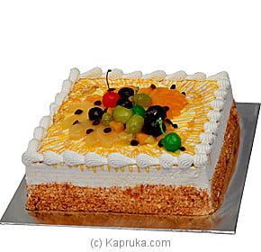 Kapruka Fruit Gateau Online at Kapruka   Product# cake00KA00291