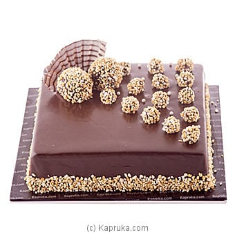 Kapruka Chocolate Chip Gateau Online at Kapruka | Product# cake00KA00338