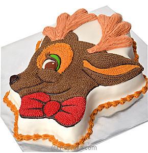 Reindeer Online at Kapruka | Product# cake00KA00343