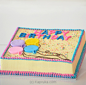 Price of Happy Birthday To You Bread Talk Cake - Kapruka