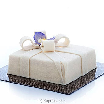 White Chocolate Gift Box(gmc) Online at Kapruka | Product# cakeGMC00122