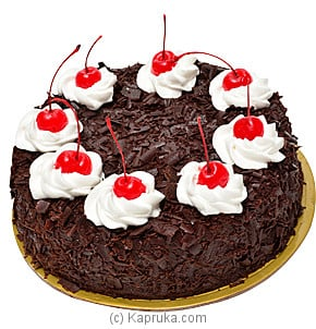 Buy Online Traditional Black Forest Bread Talk Cake Kapruka