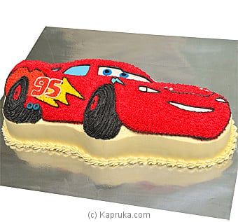 Top 10 Item Kingsbury Lightning Mcqueen CarShaped Cake