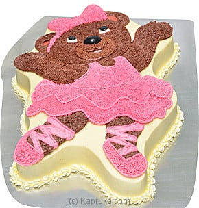 Kingsbury Ballerina Bear Online at Kapruka | Product# cakeKB0099