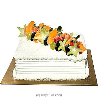 Kingsbury - Fruit Cream Gateaux Online at Kapruka | Product# cakeKB0097