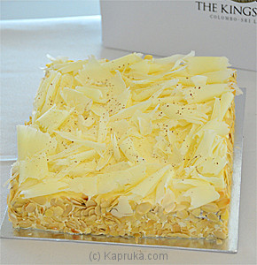 Kingsbury Almond Square Cake Online at Kapruka | Product# cakeKB00106