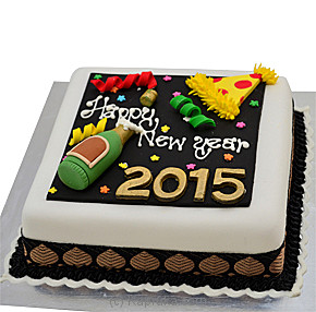 New Year Cake Images Hd : Deals For Happy New Year 2015(Shaped Cake) Bread Talk Cake ...