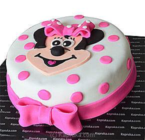 Kaprukacom Minnie Mouse Cake Cake Kapruka