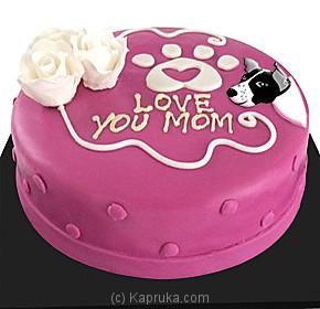 Deals For Embark Love You Mom Shaped Cake Embark Cake