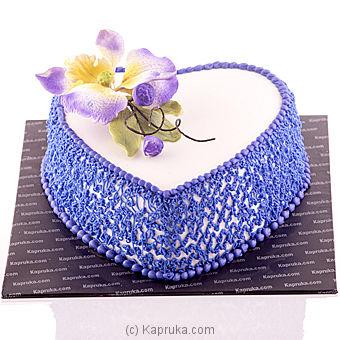 Princess Heart Cake Online at Kapruka   Product# cake00KA00420