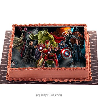 Avengers: Age Of Ultron Online at Kapruka | Product# cake00KA00460