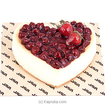 Java Strawbery Delight Cheese Cake - Kapruka Product cake00KA00495