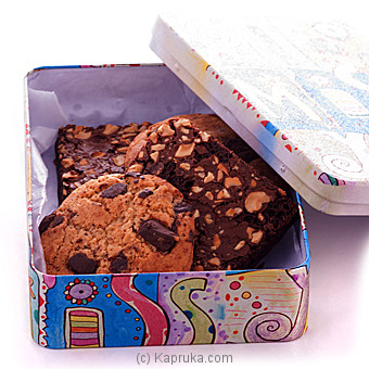 Java Assortment Of Delicious Cookies And Brownies Online at Kapruka | Product# cakeHOME00148