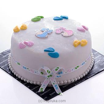 Baby Steps Cake Online at Kapruka | Product# cake00KA00525
