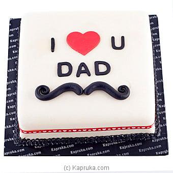 Kapruka.com: Kapruka `I Love You Dad` Cake Price in Sri ...