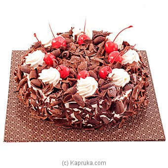 Black Forest Gateux (GMC) Online at Kapruka | Product# cakeGMC00163