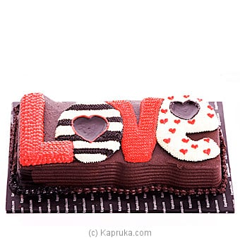 All About Love Online at Kapruka | Product# cake00KA00530
