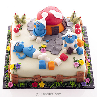 The Smurfs Online at Kapruka | Product# cake00KA00532