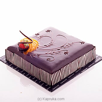 Kapruka Chocolate Supreme Gateau Online at Kapruka | Product# cake00KA00535