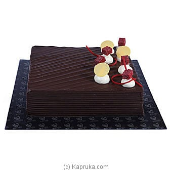 Kapruka Online Shopping Product Chocolate Brownie Mousse Cake