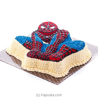 Amazing Spider-man Cake (GMC) Online at Kapruka | Product# cakeGMC00173