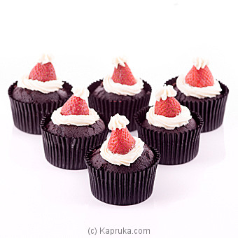 Choco With Strawberry Delight Cupcakes - Kapruka Product cakeHOME00158