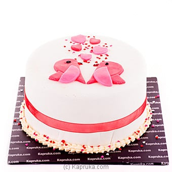 Kissing Birds Online at Kapruka | Product# cake00KA00569