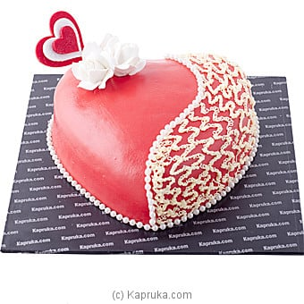 Kapruka Tender Heart Cake Online at Kapruka | Product# cake00KA00575