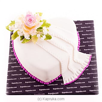 Kapruka Well Decorated Heart Shaped Cake Online at Kapruka | Product# cake00KA00596