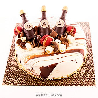 Bubbly For Dad(gmc) Online at Kapruka   Product# cakeGMC00223