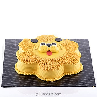 Kapruka Lovable Lion Online at Kapruka | Product# cake00KA00627