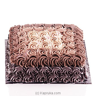 Chocolate Ombre Design Online at Kapruka | Product# cake00KA00631