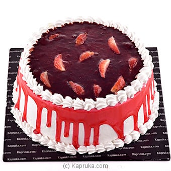 Strawberry Chocolate Gatuex Cake Online at Kapruka | Product# cake00KA00641