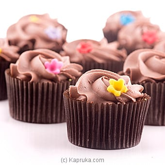 Kapruka Chocolate Cup Cake - 12 Pieces Online at Kapruka | Product# cake00KA00656