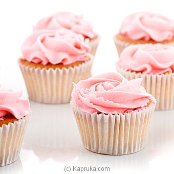 Rose Swirl Cupcake 12 Piece Pack Online at Kapruka | Product# cake00KA00663