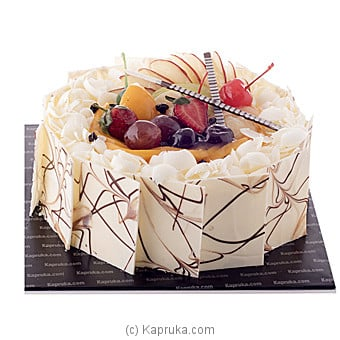 White Forest Gateaux Online at Kapruka | Product# cake00KA00671