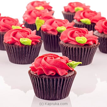Garden Of Roses Cupcakes - 12 Piece at Kapruka Online for cakes