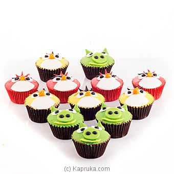 Angry Birds Cupcakes at Kapruka Online for cakes