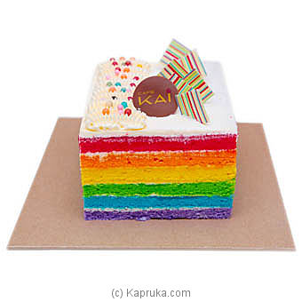 Kapruka Online Shopping Product Hilton Rainbow Cake